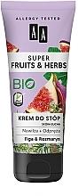 """Parfüm, Parfüméria, kozmetikum Lábkrém """"Gyömbér és rozmaring"""" - AA Super Fruits & Herbs"""