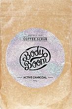 Parfüm, Parfüméria, kozmetikum Testradír aktív szénnel - BodyBoom Active Charcoal Coffee Scrub