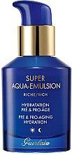 Parfüm, Parfüméria, kozmetikum Öregedésgátló hidratáló emulzió érett bőrre - Guerlain Super Aqua Rich Emulsion