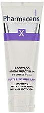 Parfüm, Parfüméria, kozmetikum Regeneráló és nyugtató krém arcra és testre - Pharmaceris X XRay-Liposubtilium Sooting and Regenerating Cream For Face and Body