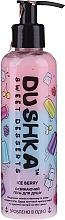 "Parfüm, Parfüméria, kozmetikum ""Ice Berry"" frissítő tusfürdő, adagolóval - Dushka Sweet Desserts Ice Berry Shower Gel"