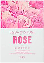 Parfüm, Parfüméria, kozmetikum Szövetmaszk rózsa kivonattal - A'Pieu My Skin-Fit Sheet Mask Rose