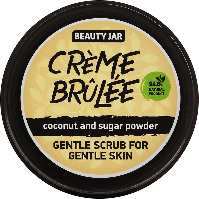 "Arcradír ""Creme brulee"" - Beauty Jar Gentle Scrub For Gentle Skin"
