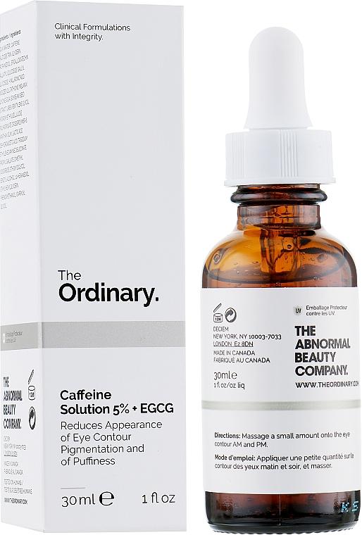 Szemkörnyék szérum - The Ordinary Caffeine Solution 5% + EGCG