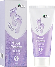 Parfüm, Parfüméria, kozmetikum Nyugtató lábkrém levendulával - Ekel Foot Cream