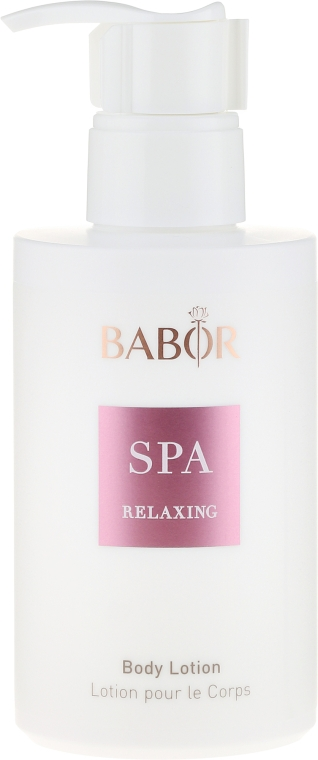 "Testlotion ""Relax"" - Babor Relaxing Body Lotion — fotó N2"