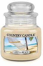 Parfüm, Parfüméria, kozmetikum Illatgyertya üvegben - Country Candle Life's A Beach