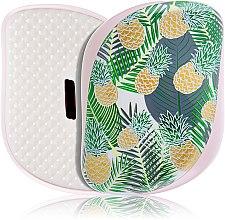 Parfüm, Parfüméria, kozmetikum Kompakt hajkefe - Tangle Teezer Compact Styler Brush Palms & Pineapples