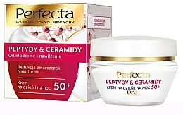 Parfüm, Parfüméria, kozmetikum Regeneráló krém 50+ - Perfecta Peptydy&Ceramidy