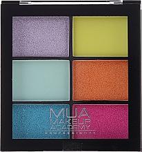 Parfüm, Parfüméria, kozmetikum Szemhéjfesték paletta - MUA Makeup Academy Professional 6 Shade Palette