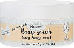 "Parfüm, Parfüméria, kozmetikum Testradír ""Narancs sörbet"" - Nacomi Sunny Orange Sorbet Body Scrub"