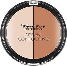 Parfüm, Parfüméria, kozmetikum Kontúrozó paletta - Pierre Rene Cream Contouring