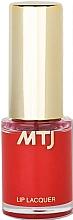 Parfüm, Parfüméria, kozmetikum Ajaklakk - MTJ Cosmetics Liquid Lip Lacquer Effect 6H