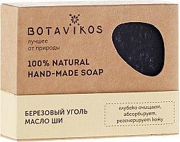 """Parfüm, Parfüméria, kozmetikum Természetes kézzel készült szappan """"Nyír szén és shea vaj"""" - Botavikos Hand-Made Soap"""
