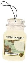 "Parfüm, Parfüméria, kozmetikum Illatosító ""Shea vaj"" - Yankee Candle Shea Butter Car Jar Ultimate"