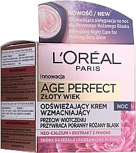 Parfüm, Parfüméria, kozmetikum Éjszakai arckrém - L'Oreal Paris Age Perfect Neo-Calcium Night Cream 60+