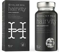 Parfüm, Parfüméria, kozmetikum Hajhullás elleni étrend-kiegészítő kapszula férfiaknak - Halier Men Hairvity Hair Vitamins Anti Hair Loss