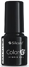 Parfüm, Parfüméria, kozmetikum Gél-lakk - Silcare Color IT Premium Hybrid Gel