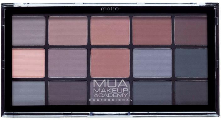 Szemhéjfesték paletta - MUA 15 Shade Eyeshadow Palette