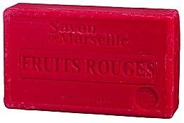 """Parfüm, Parfüméria, kozmetikum Natúr szappan """"Piros gyümölcsök"""" - Le Chatelard 1802 Red Fruit Soap"""