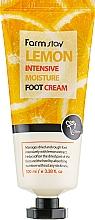 Parfüm, Parfüméria, kozmetikum Lábkrém citrom kivonattal - FarmStay Lemon Intensive Moisture Foot Cream
