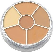 Parfüm, Parfüméria, kozmetikum Korrektor paletta arcra, 6 db - Kryolan Concealer Circle