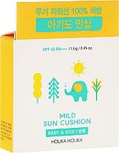Parfüm, Parfüméria, kozmetikum Napvédő cushion - Holika Holika Mild Sun Cushion SPF45