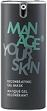 Parfüm, Parfüméria, kozmetikum helyreállító gél-maszk arcra - Dr. Spiller Regenerating Gel Mask