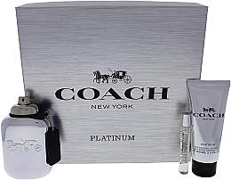 Parfüm, Parfüméria, kozmetikum Coach Platinum - Szett (edp/100ml + edp/7.5ml + s/g/100ml)