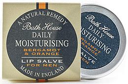 Parfüm, Parfüméria, kozmetikum Férfi ajakbalzsam - Bath House Bergamot & Orange Lip Salve