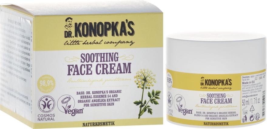 Arckrém puhító hatással - Dr. Konopka's Soothing Face Cream