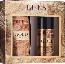 Parfüm, Parfüméria, kozmetikum Bi-es Gold For Man - Szett (h/shm/250ml + deo/150ml)