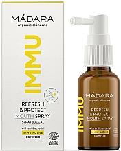 Parfüm, Parfüméria, kozmetikum Frissítő és védő orális spray - Madara Cosmetics IMMU Refresh & Protect Mouth Spray