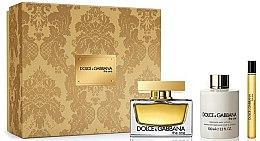 Parfüm, Parfüméria, kozmetikum Dolce & Gabbana The One - Szett (edp/75ml + b/lot/100ml + edp/10ml)
