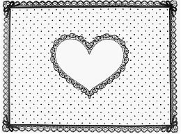 """Parfüm, Parfüméria, kozmetikum Szilikon szőnyeg """"Heart"""" - Elisium"""
