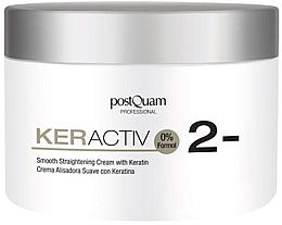 Parfüm, Parfüméria, kozmetikum Könnyű egyenesítő keratin krém - PostQuam Keractiv Smooth Straightening Cream With Keratin
