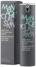 Parfüm, Parfüméria, kozmetikum Hatékony szérum szemkörnyékre - Dr. Spiller Manage Your Skin Effective Eye Contour Serum