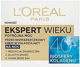 Parfüm, Parfüméria, kozmetikum Éjszakai arckrém - L'Oreal Paris Age Specialist Expert Night Cream 40+
