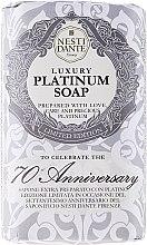 """Parfüm, Parfüméria, kozmetikum Szappan """"Platina"""" - Nesti Dante Luxury Platinum Soap 70th Anniversary"""