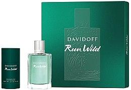 Parfüm, Parfüméria, kozmetikum Davidoff Run Wild Men - Készlet (edt/100ml + deo/70g)