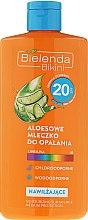 Parfüm, Parfüméria, kozmetikum Napozó lotion SPF30 - Bielenda Bikini Tanning Aloe Lotion SPF20