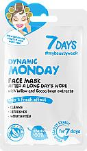 """Parfüm, Parfüméria, kozmetikum Arcmaszk """"Mozgalmas hétfő"""" - 7 Days Dynamic Monday"""
