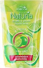 """Parfüm, Parfüméria, kozmetikum Folyékony szappan """"Lime"""" - Joanna Naturia Body Lime Liquid Soap (Refill)"""