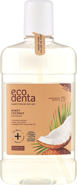 Szájvíz - Ecodenta Cosmos Organic Minty Coconut