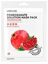 Parfüm, Parfüméria, kozmetikum Szövetmaszk arcra - Lebelage Pomegrante Solution Mask