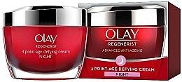 Parfüm, Parfüméria, kozmetikum Öregedésgátló éjszakai krém - Olay Regenerist 3 Point Age-Defying Cream Night