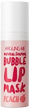 Parfüm, Parfüméria, kozmetikum Buborék ajakmaszk - Welcos Natural Foaming Bubble Lip Mask Peach