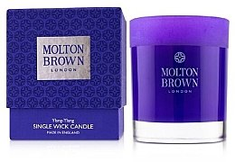 Parfüm, Parfüméria, kozmetikum Molton Brown Ylang-Ylang Single Wick Candle - Illatosított gyertya