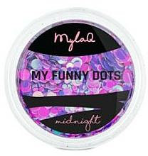 Parfüm, Parfüméria, kozmetikum Körömdíszítő paletta - MylaQ My Funny Dots