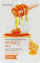 Parfüm, Parfüméria, kozmetikum Szövetmaszk máz kivonattal - Eunyul Natural Moisture Mask Pack Honey